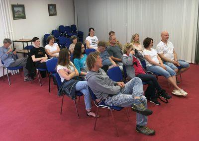Seminar v Lendavi, maj 2019 – predavanje Od oblike do forme